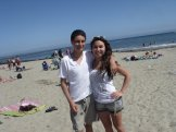 Me and RY at beach